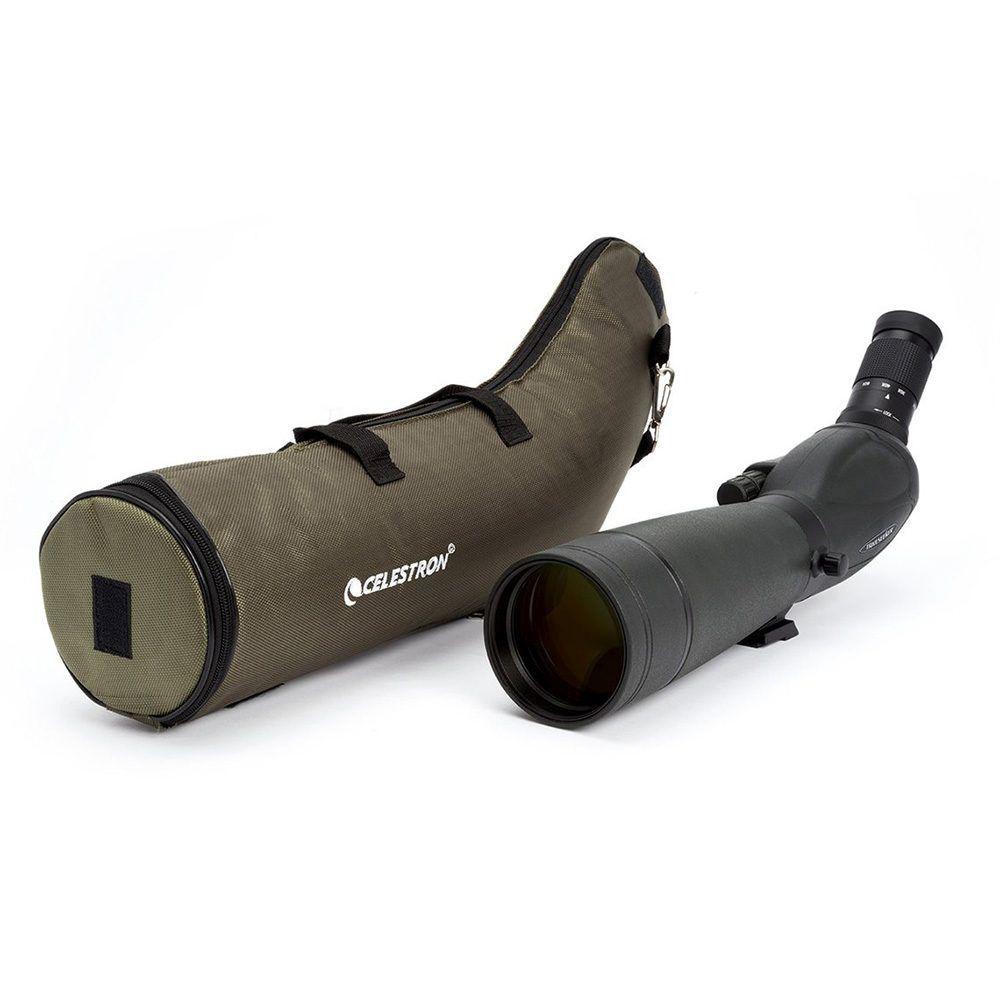 Caratteristiche tecniche e prezzi cannocchiale Celestron Trailseeker 80 gommato verde con oculare zoom 20-60X
