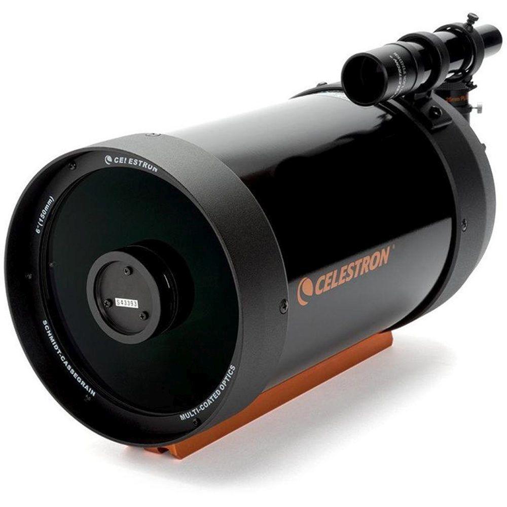 Caratteristiche tecniche e prezzi tubo ottico Celestron C6 Schmidt Cassegrain slitta CG5