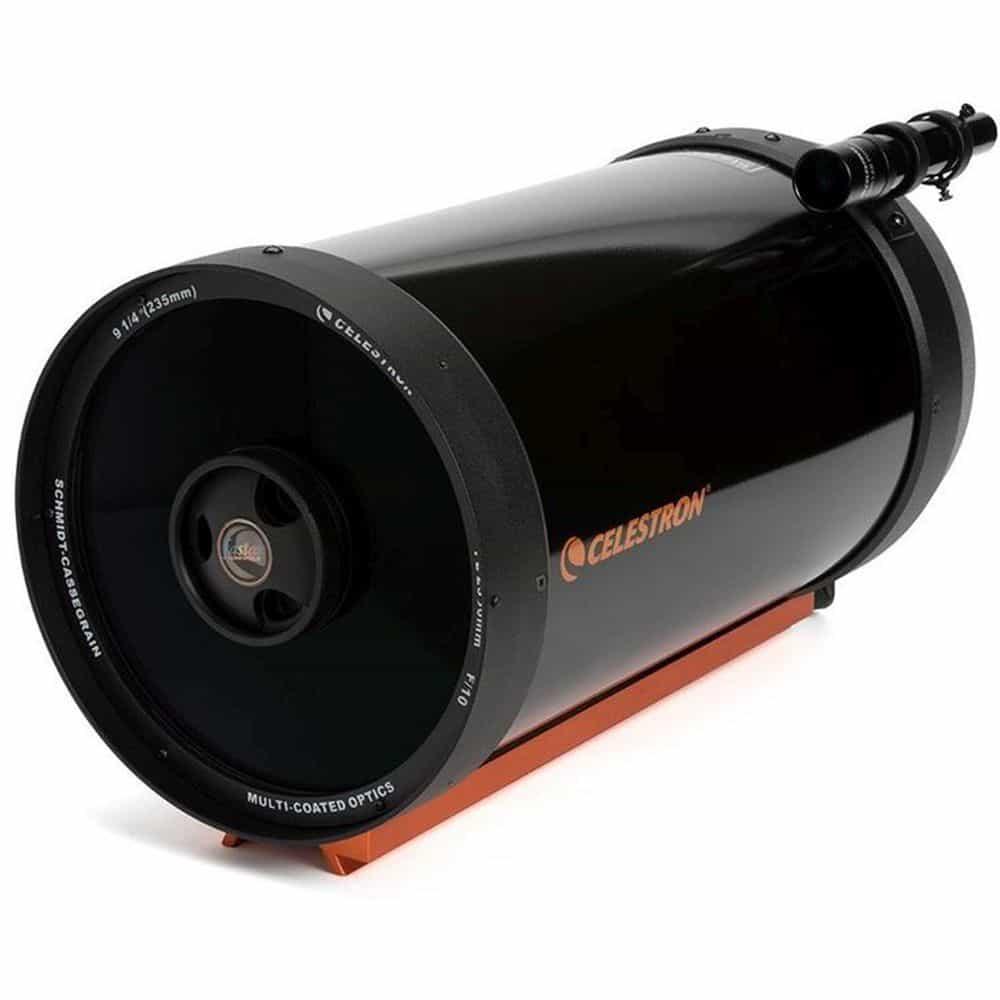 Caratteristiche tecniche e prezzi tubo ottico Celestron C9.25 XLT Schmidt Cassegrain slitta CG5