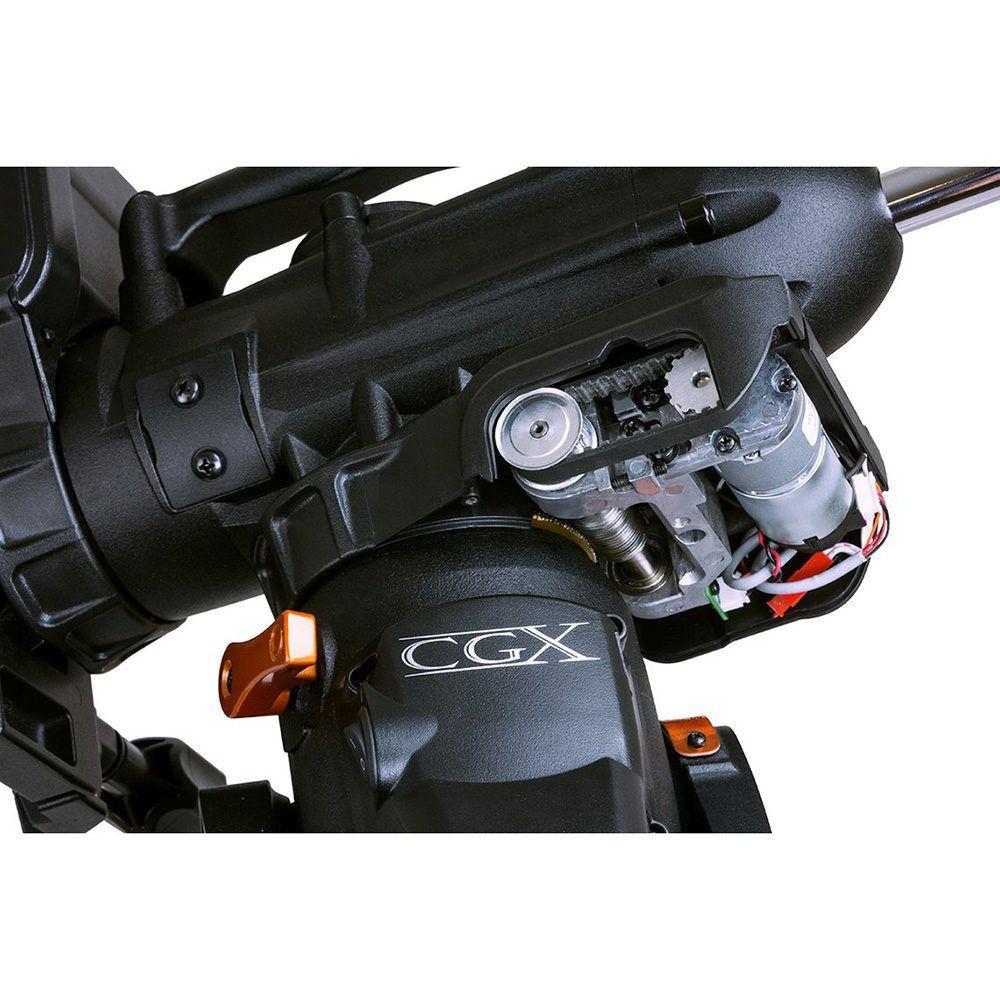 Dettaglio motori con cinghia Montatura Celestron CGX