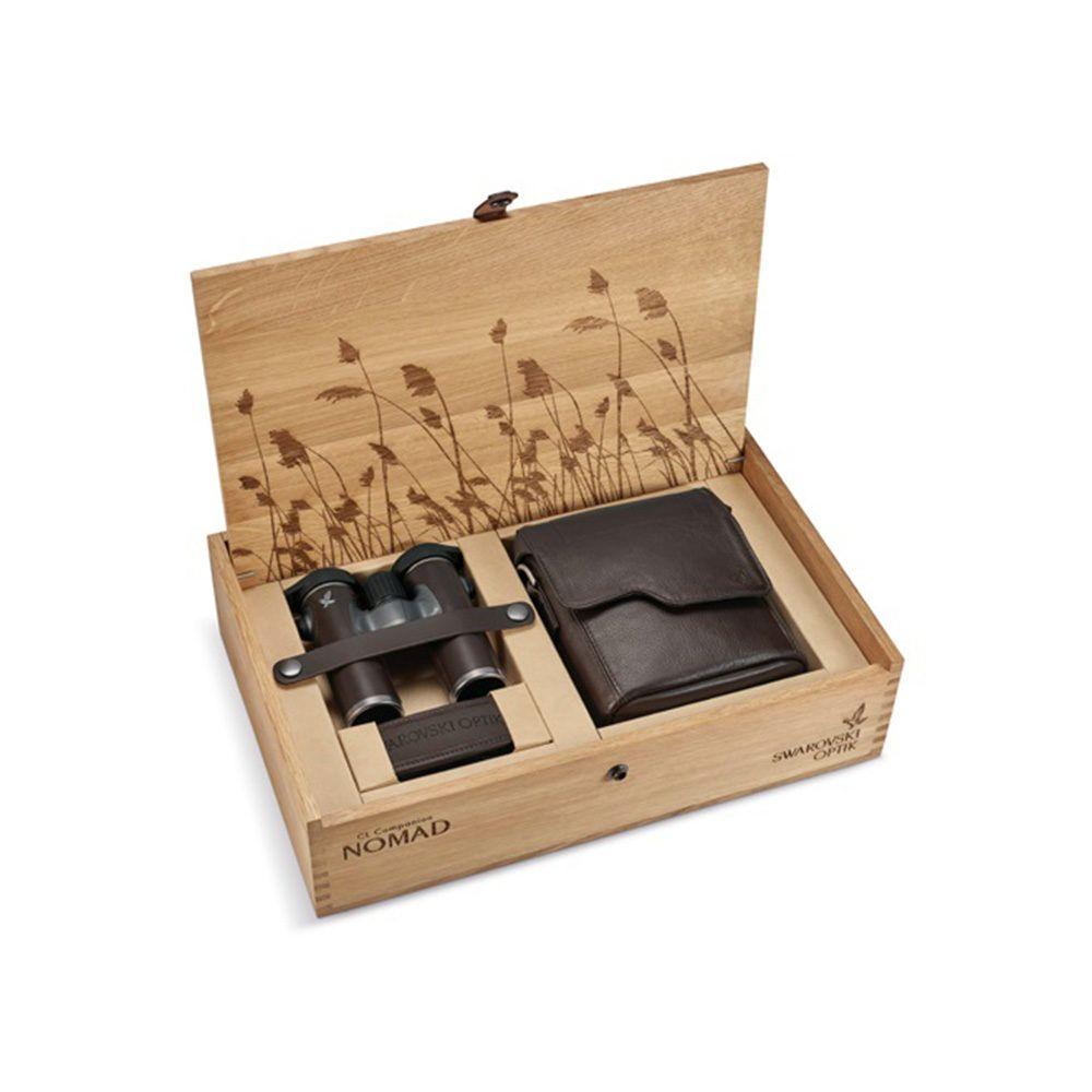 Confezione in legno binocolo Swarovski Optik CL Companion NOMAD