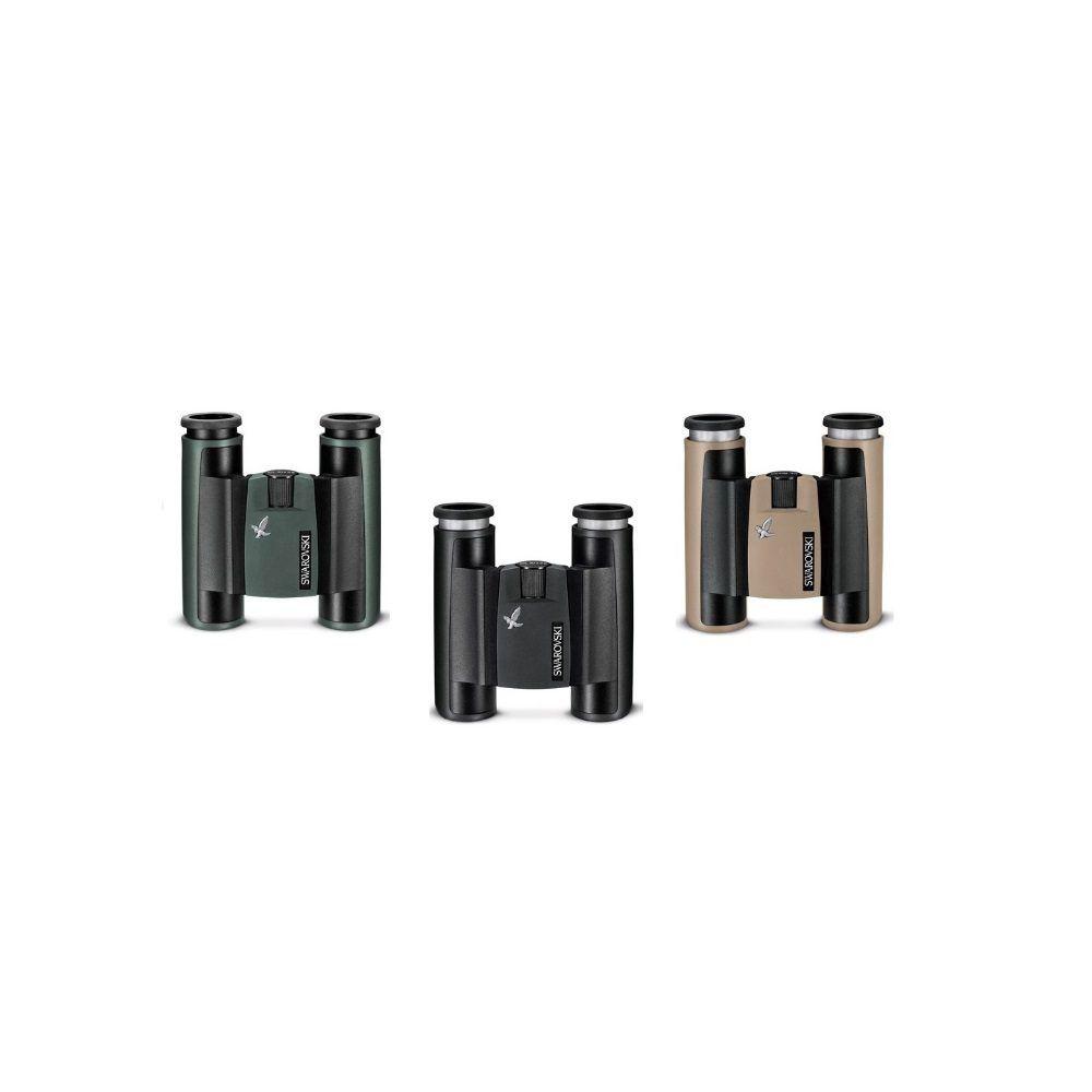 Binocoli Swarovski Optik serie CL Pocket nelle 3 colorazioni verde, nero e sabbia