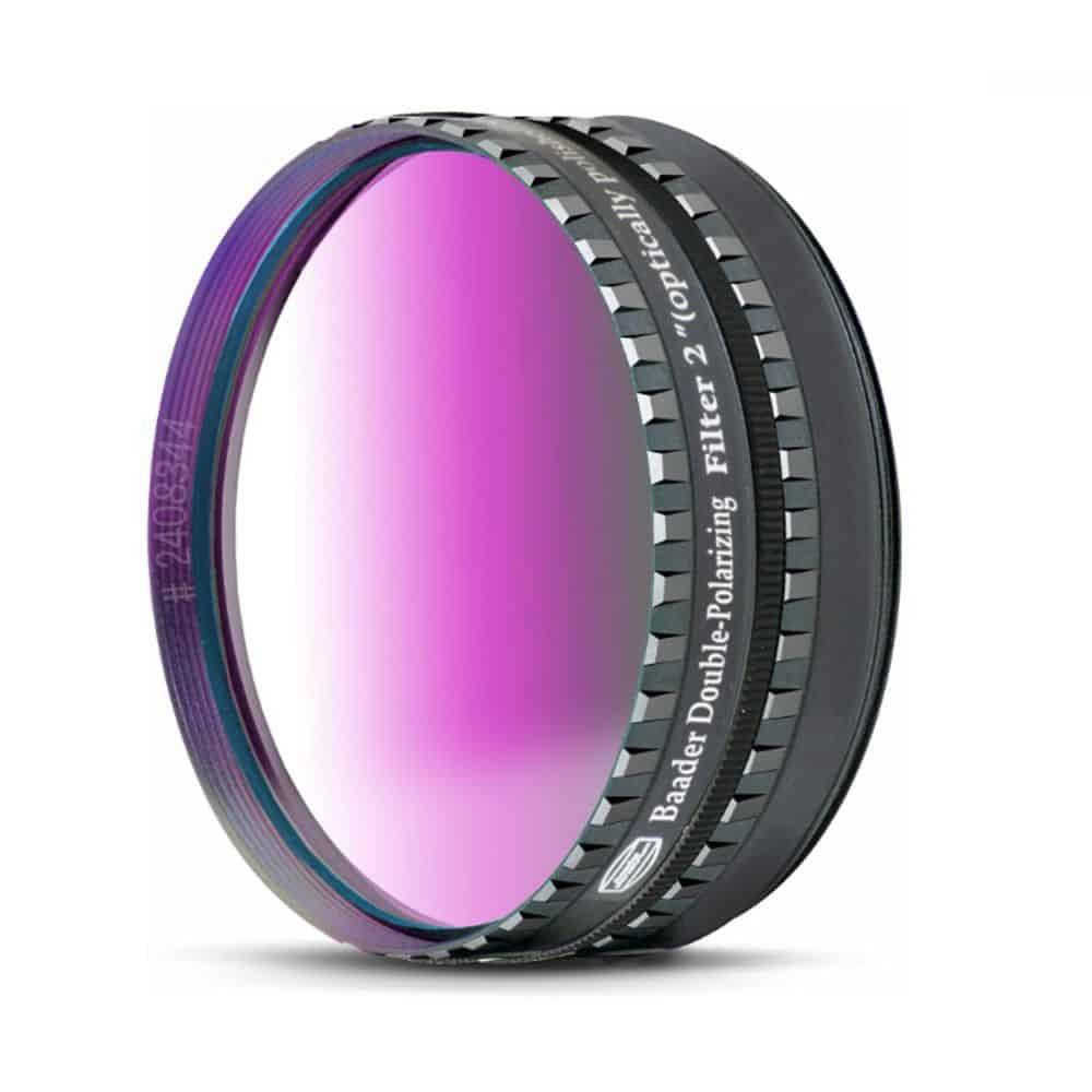 Caratteristiche tecniche e prezzi filtro Baader Planetarium polarizzatore doppio variabile 50,8mm