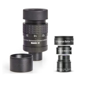 Caratteristiche tecniche e prezzi kit oculare Baader Planetarium Hyperion zoom 8-24mm + Berlow 2.25X Hyperion
