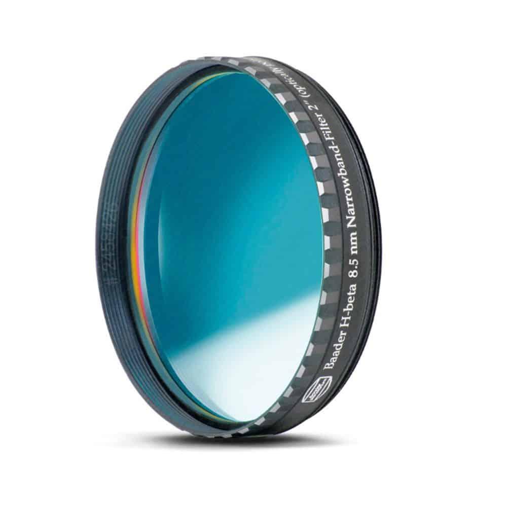 Caratteristiche tecniche e prezzi filtro nebulare CCD Baader Planetarium H-Beta 8.5nm 50,8mm