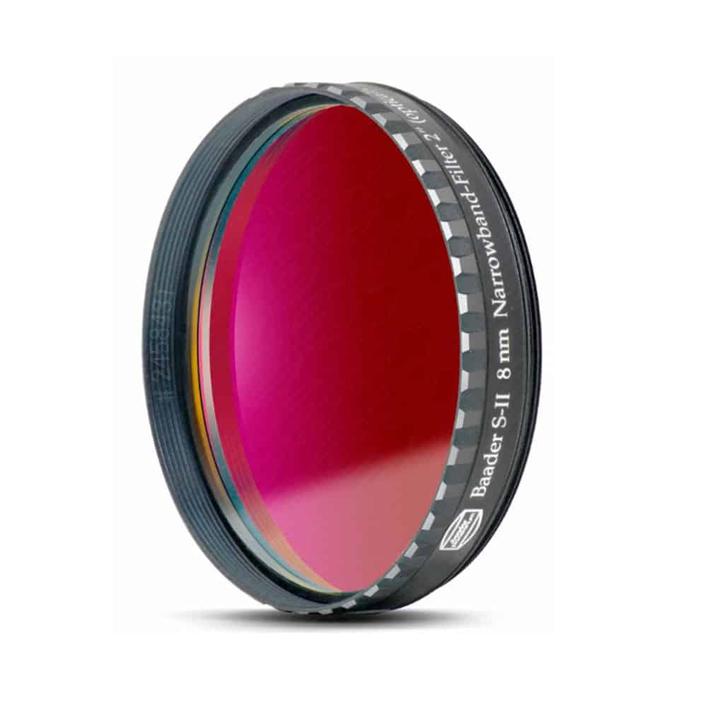 Caratteristiche tecniche e prezzi filtro nebulare CCD Baader Planetarium SII 8nm 50,8mm