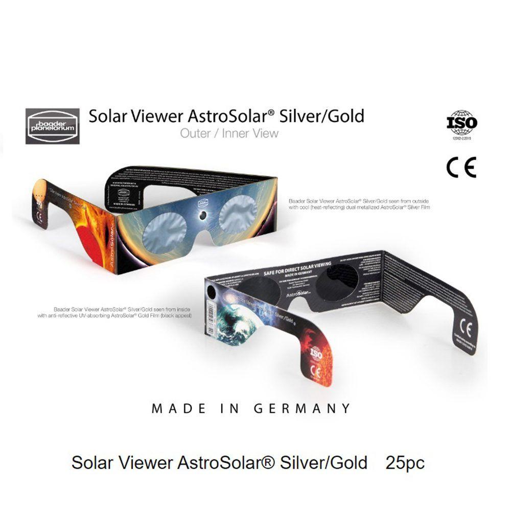 Caratteristiche tecniche e prezzi occhialini solare per eclissi Astrosolar Baader Planetarium 25pz