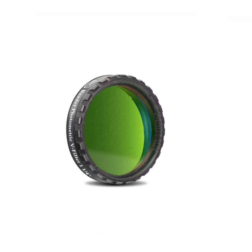Caratteristiche tecniche e prezzi filtro fotometrico V Baader Planetarium 31.8mm