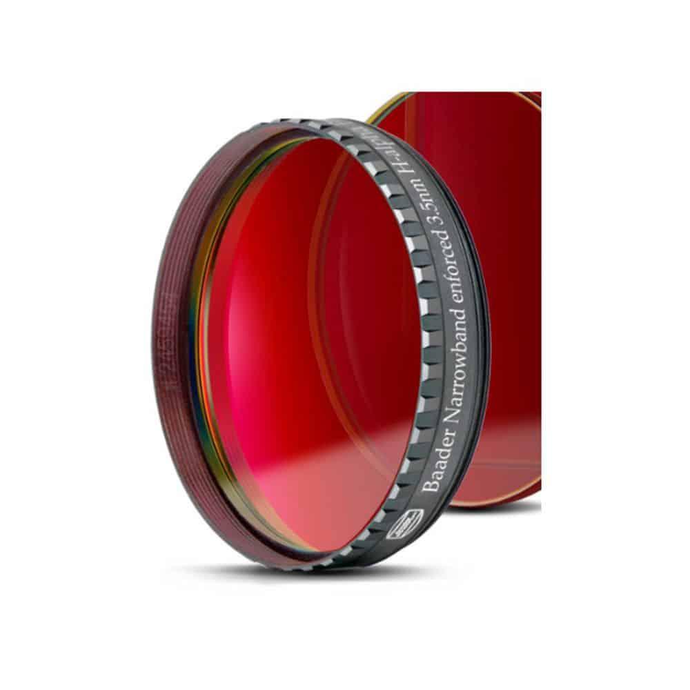 Caratteristiche tecniche e prezzi filtro nebulare CCD Baader Planetarium H-Alpha 3.5nm 50,8mm
