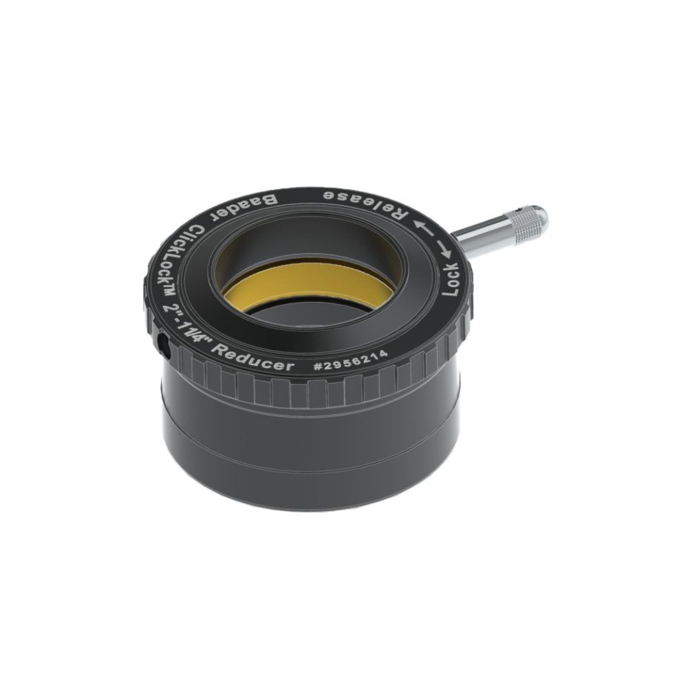Caratteristiche tecniche e prezzi Baader Planetarium riduttore 50.8,, a 31.8mm con sistema di serraggio Click Lock