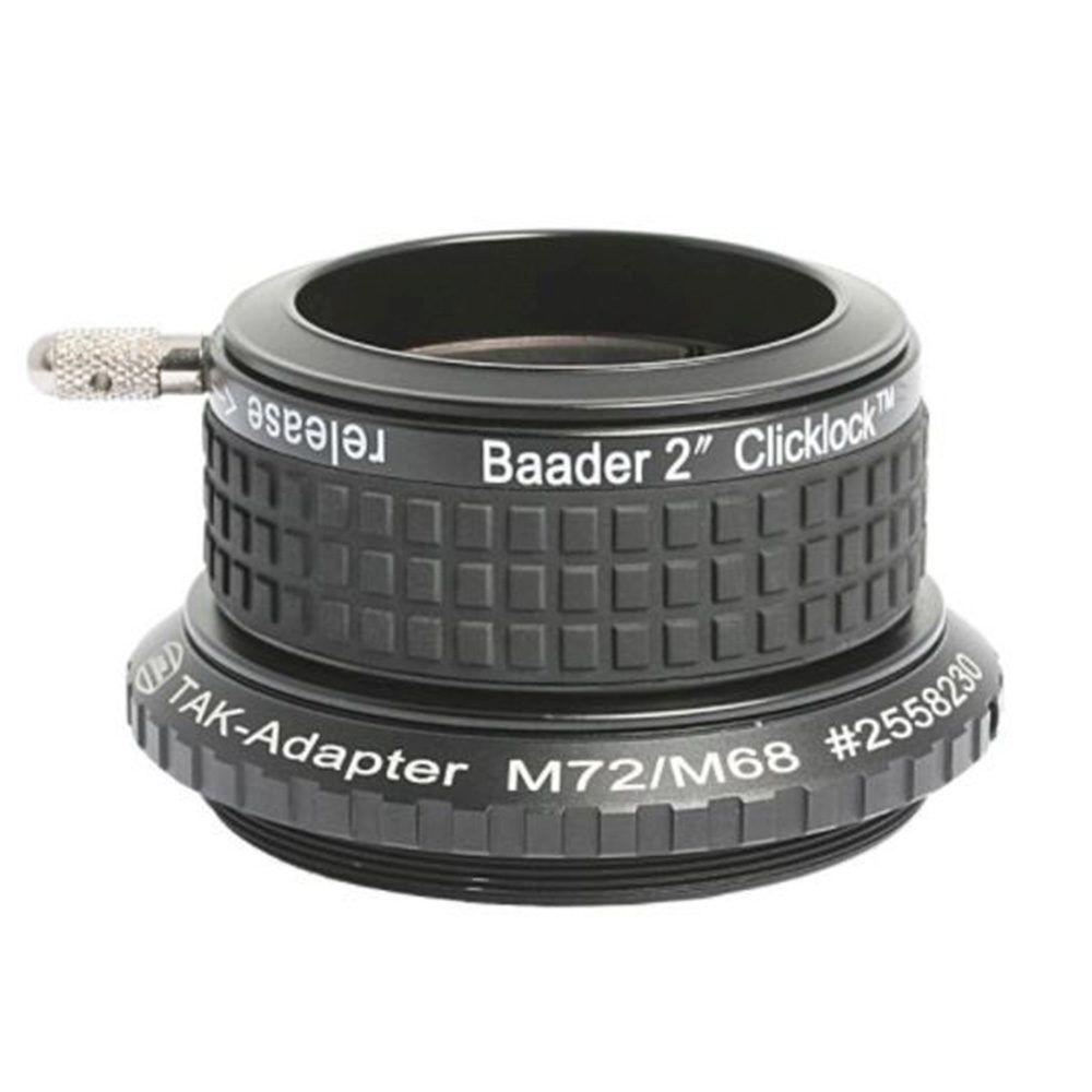 Caratteristiche tecniche e prezzi Baader Planetarium portaoculari Click Lock 50.8mm M72 Takahashi