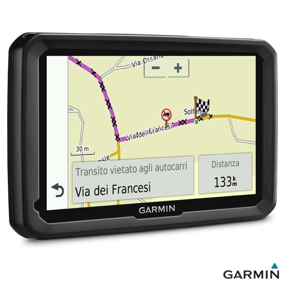 Caratteristiche tecniche e prezzi navigatore satellitare portatile per Autocarri Garmin Dezl 580 LMT-D