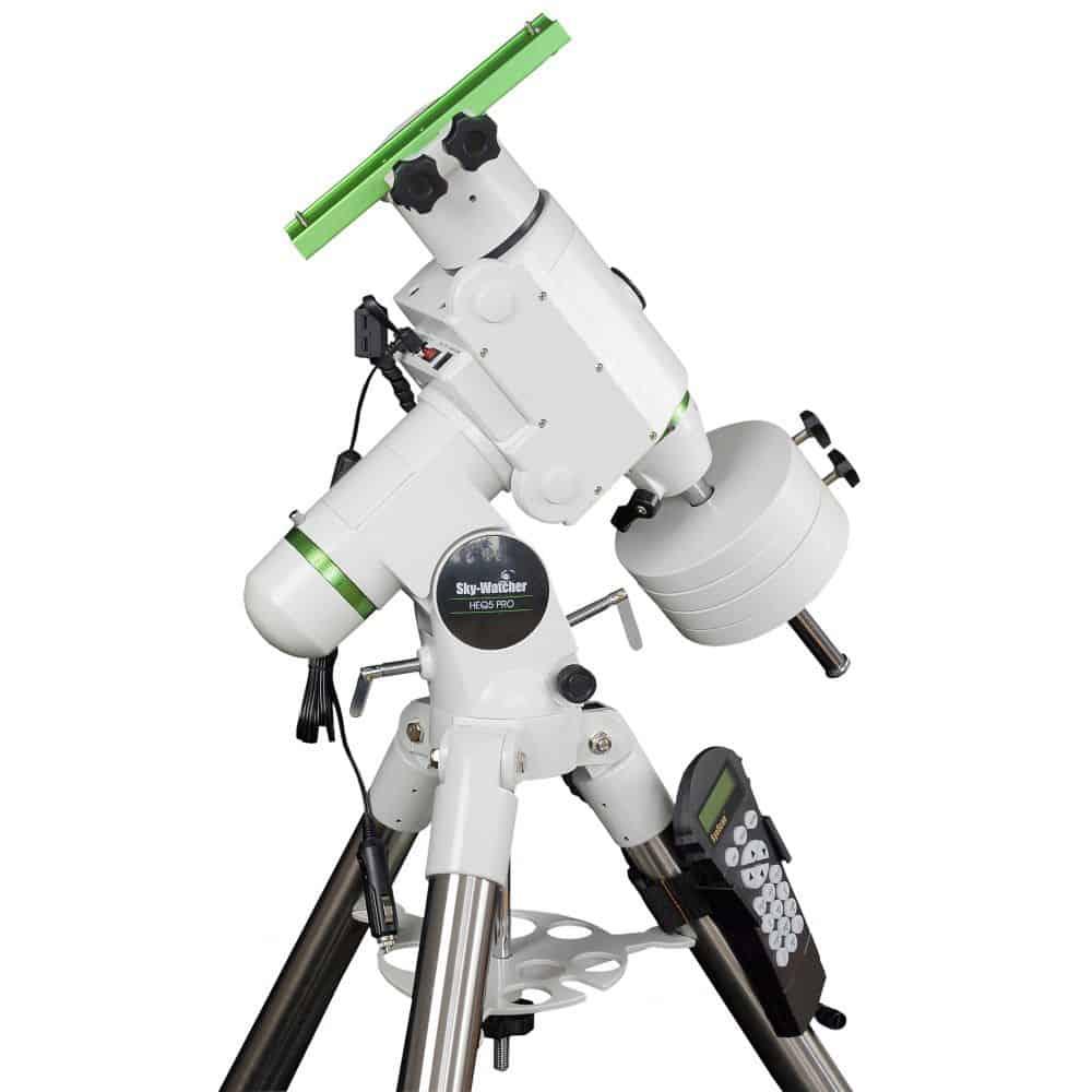 Caratteristiche tecniche e prezzi montatura Skywatcher equatoriale computerizzata HEQ5 PRO Synscan