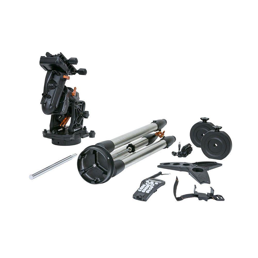 Dettaglio montatura telescopi Celestron serie CGX