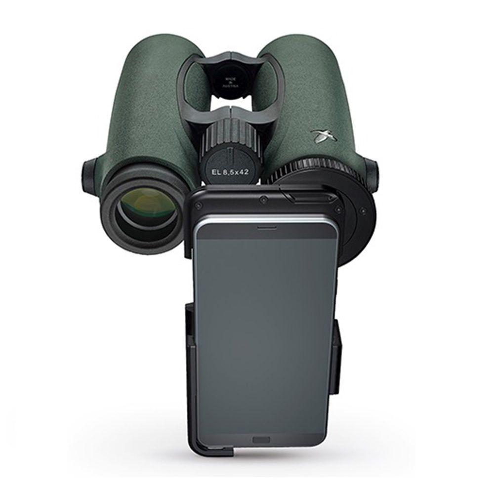 Adattatore fotografico Swarovski Optik VPA per smartphone su binocolo