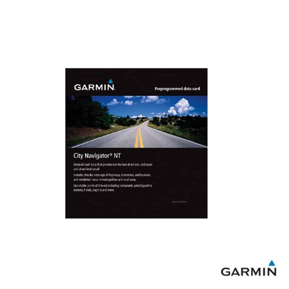 Caratteristiche tecniche e prezzi cartografia Garmin City Navigator NT Cile