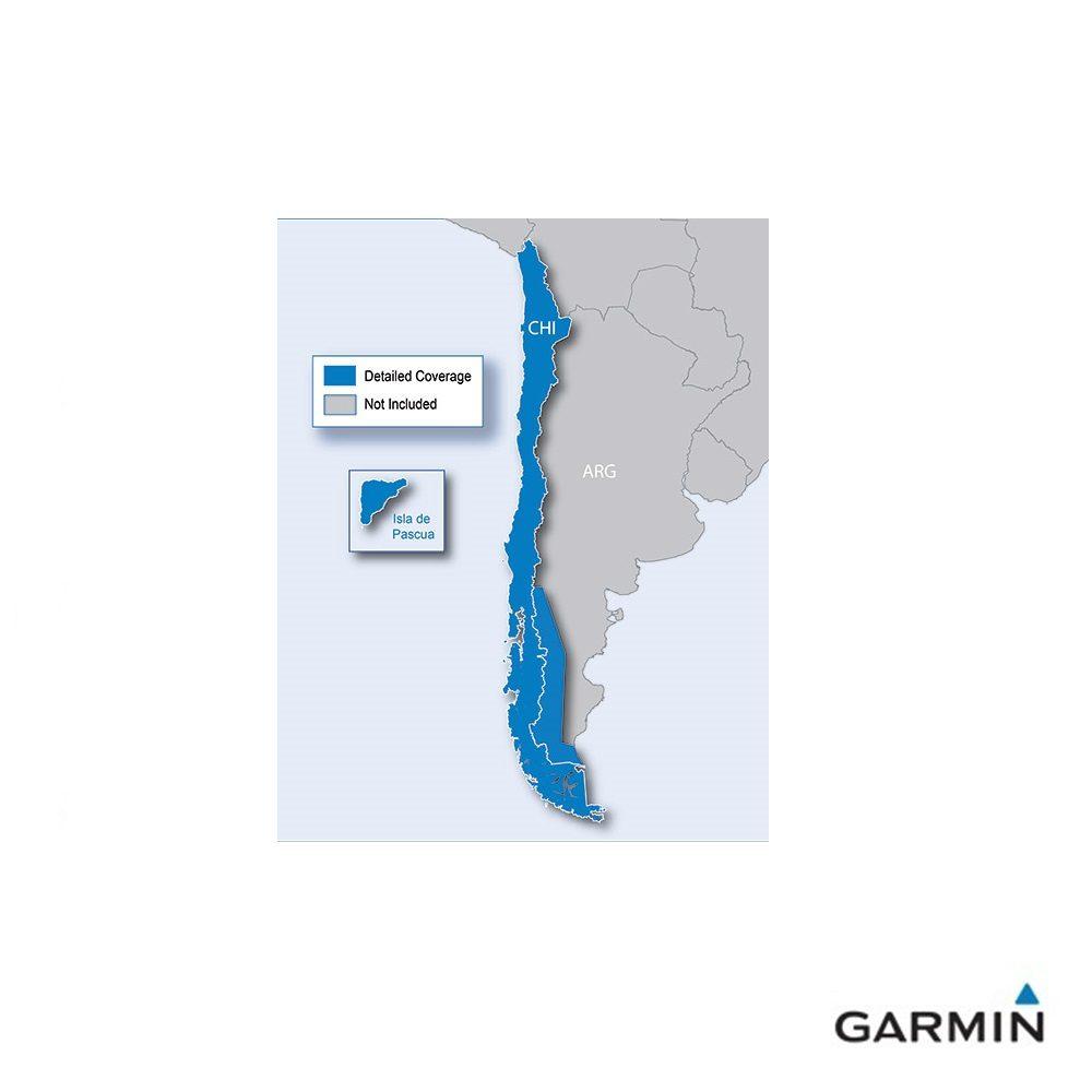 Caratteristiche tecniche e prezzi cartografia Garmin City Navigator NT Cile copertura