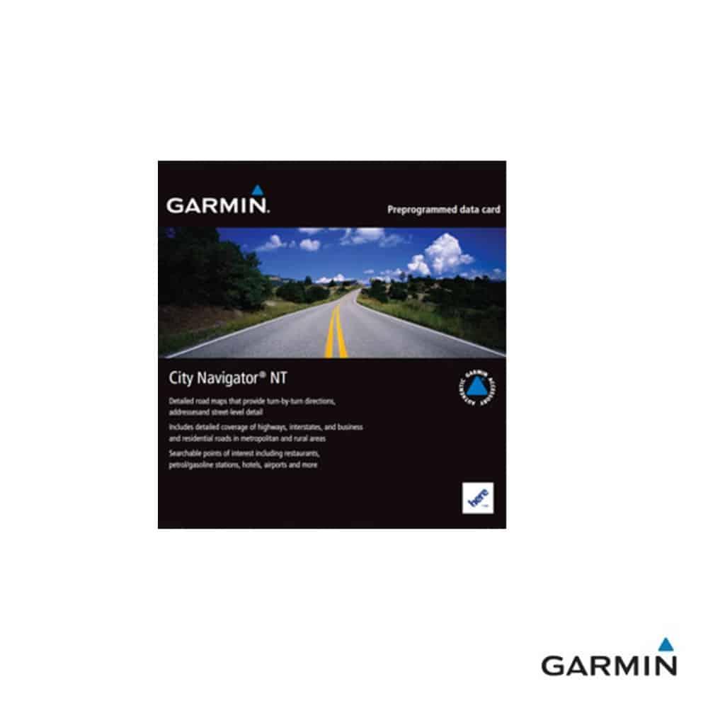 Caratteristiche tecniche e prezzi cartografia Garmin City Navigator NT Sud Est Asia