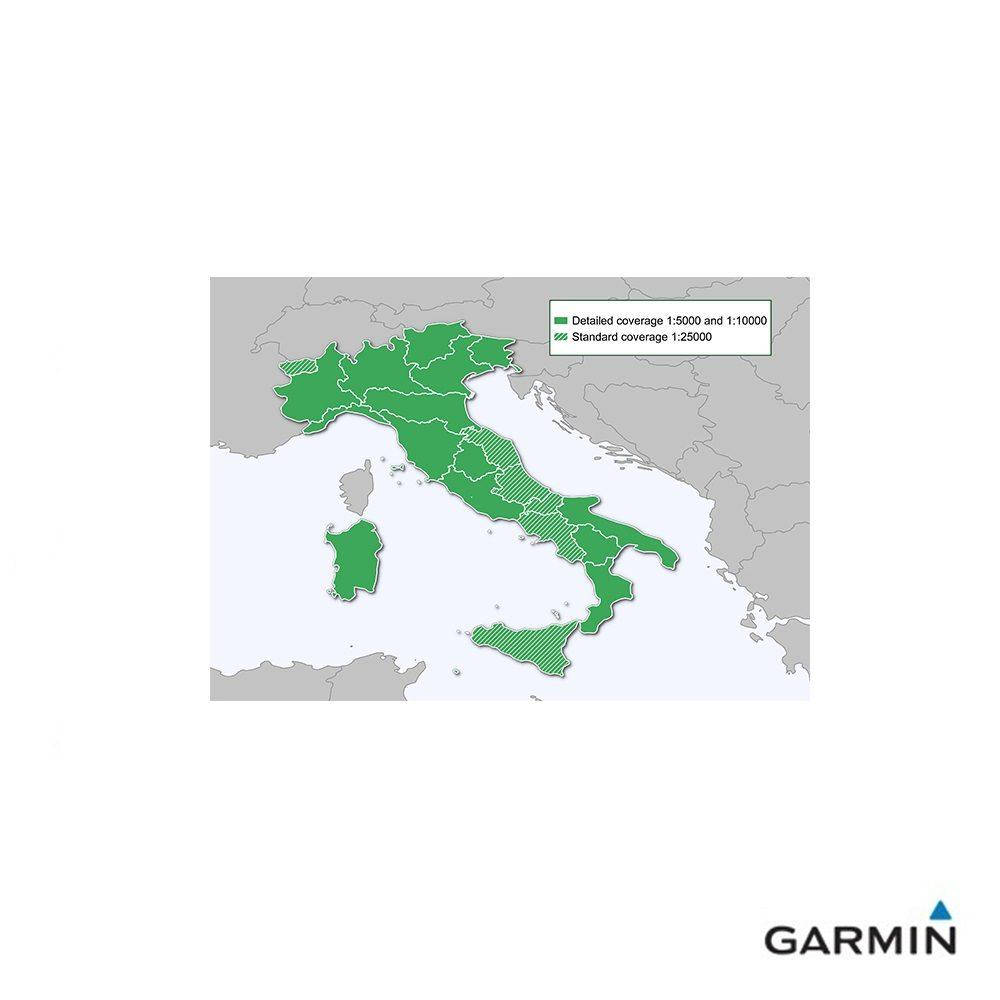 Caratteristiche tecniche e prezzi cartografia dei sentieri Garmin TrakMap Italia V5 PRO COPERTURA