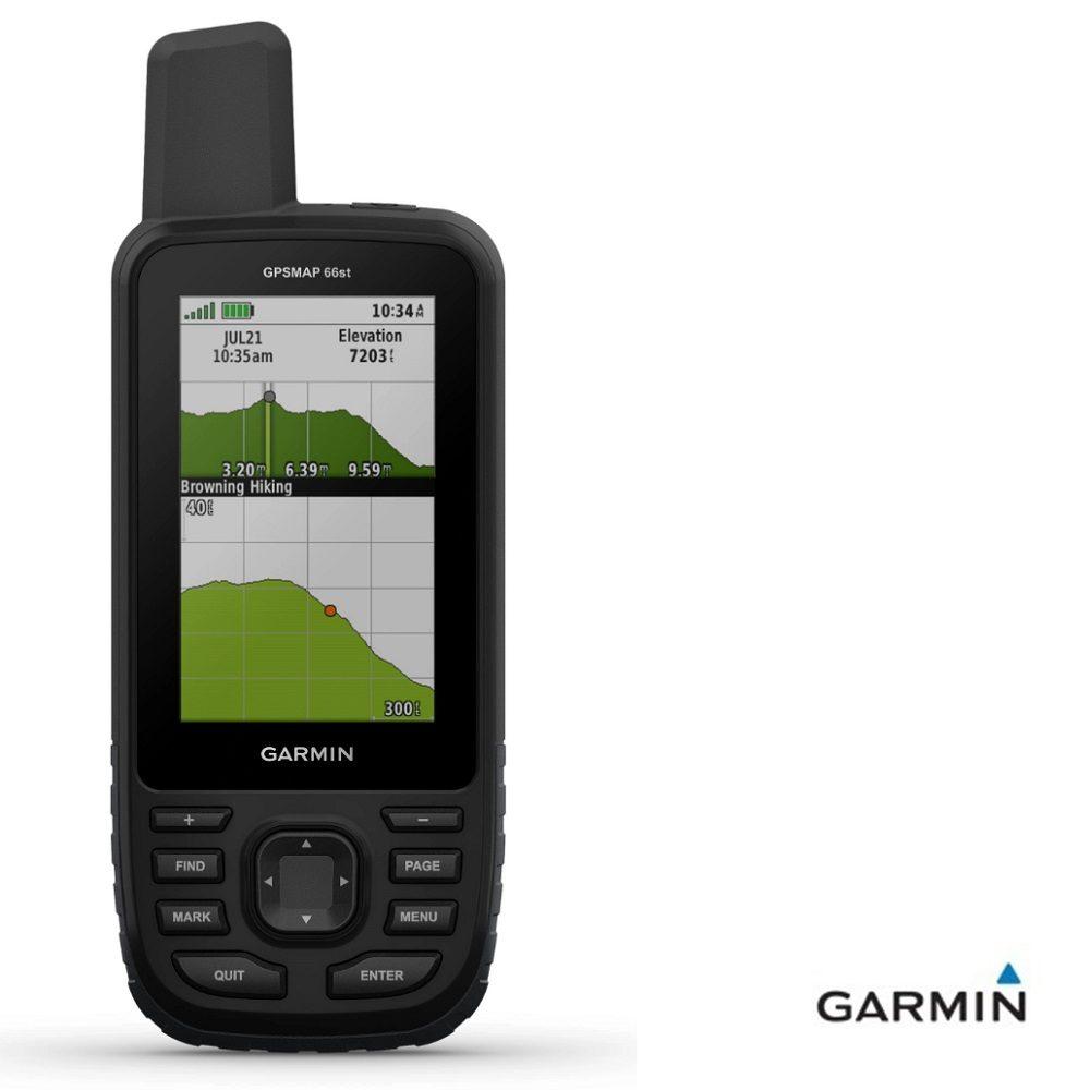Caratteristiche tecniche e prezzi Garmin GPSMAP 66st con cartografia topo europa 46 paesi grafico altimetria
