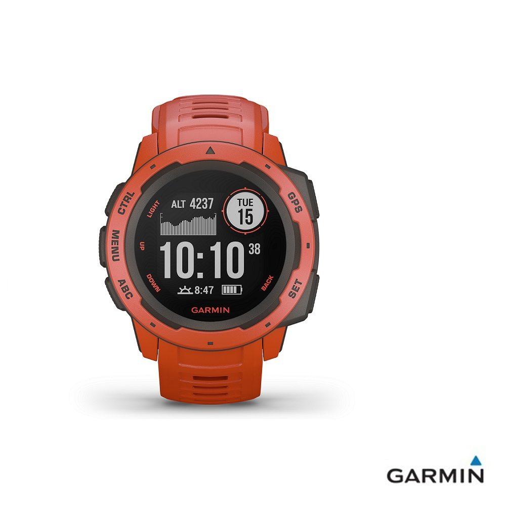 Caratteristiche tecniche e prezzi orologio GPS Garmin Instinct flame red multiattività