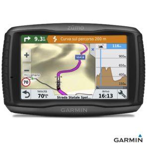 Caratteristiche tecniche navigatore satellitare per moto Garmin Zumo 595 LM Travel Edition