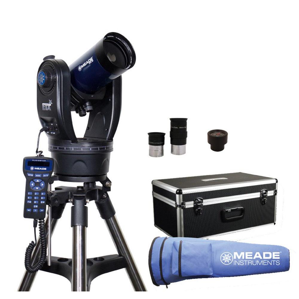 Caratteristiche tecniche e prezzi telescopio Meade ETX90 Observer computerizzato Audiostar - dotazione di serie