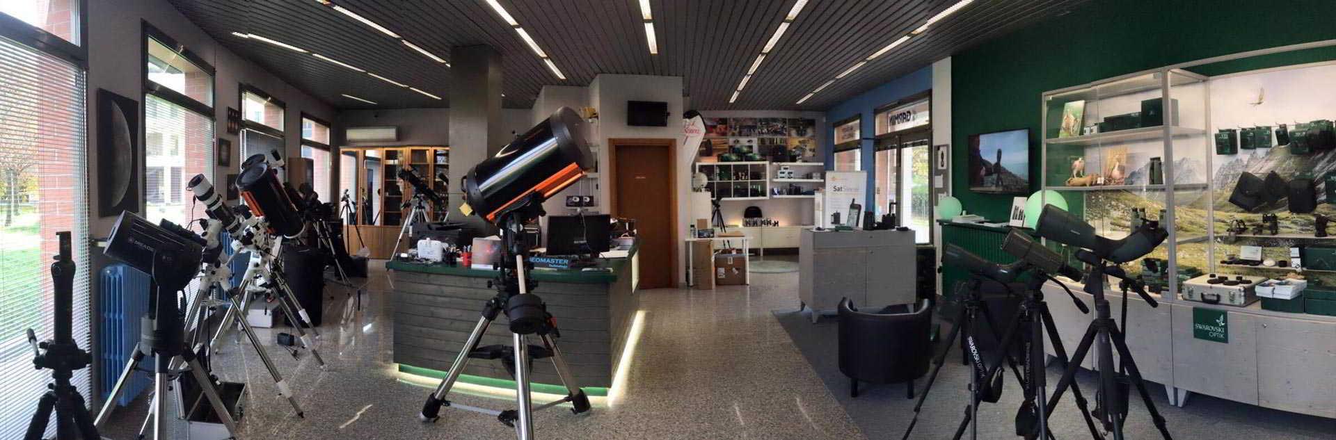 Negozio Telescopi Staroptics Modena
