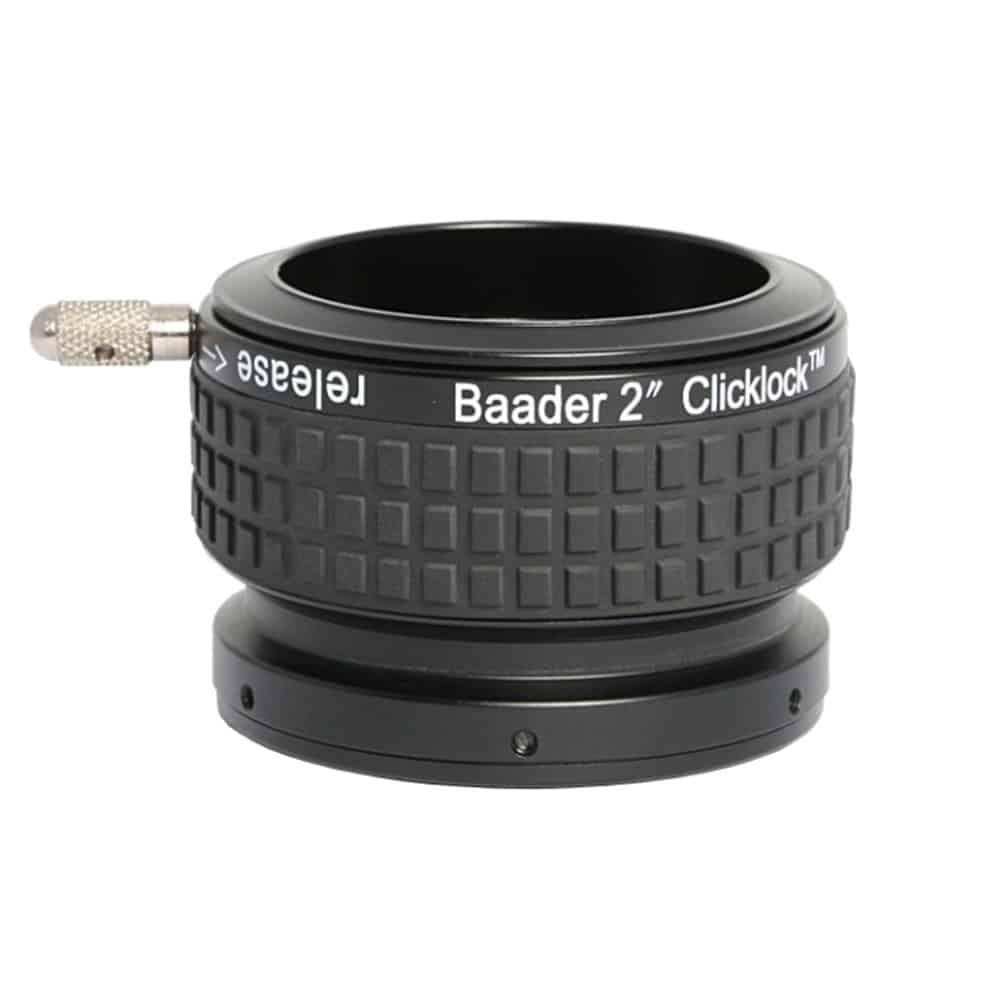Caratteristiche tecniche e prezzi Baader Planetarium portaoculari Click Lock 50.8mm per rifrattori Skywatcher