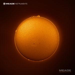Ripresa del sole con telescopio solare Coronado H-Alpha Solarmax III 70