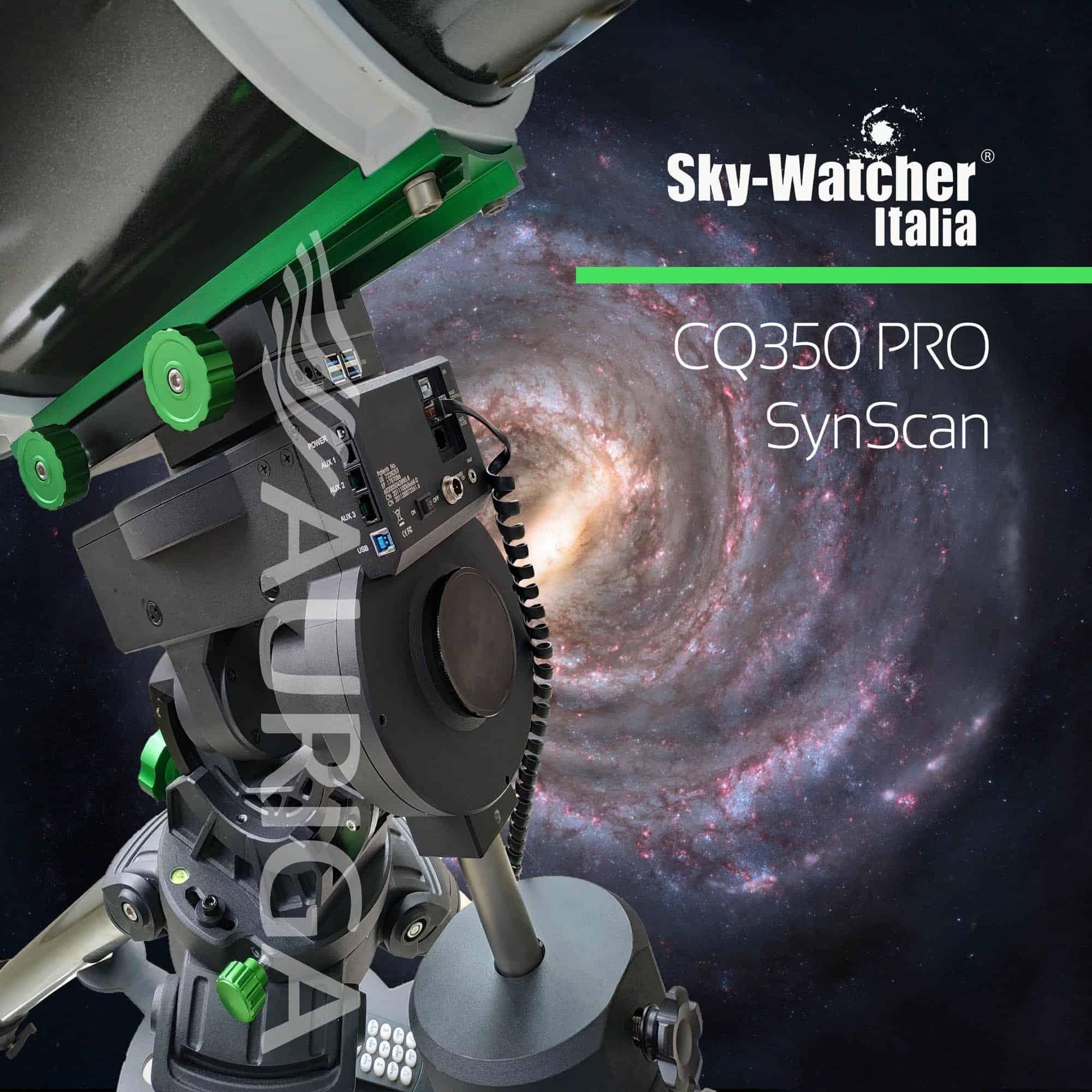 Caratteristiche tecniche e prezzi montatura Skywatcher CQ350 con sistema GOTO Synscan PRO